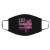 Strength Courage Breast Cancer Face Mask
