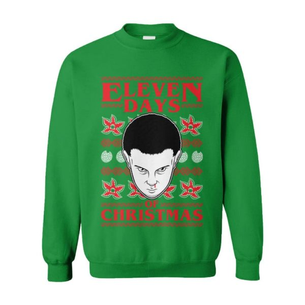 Eleven Days Of Christmas Ugly Christmas Sweater