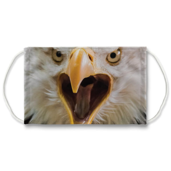 American Bald Eagle Face Mask