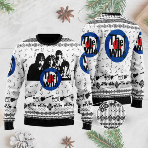 The Who Band 3D Printed Ugly Christmas Sweater