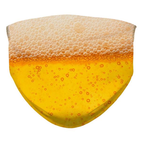 Beer Pattern Beer Drinker Face Mask