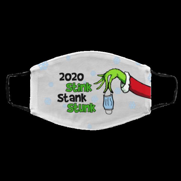 2020 Stink Stank Stunk Quarantined Christmask Face Mask