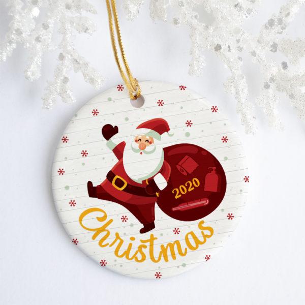 Cute Santa Claus Xmas Tree Hanging Decorative Christmas Ornament - Funny Holiday Gift