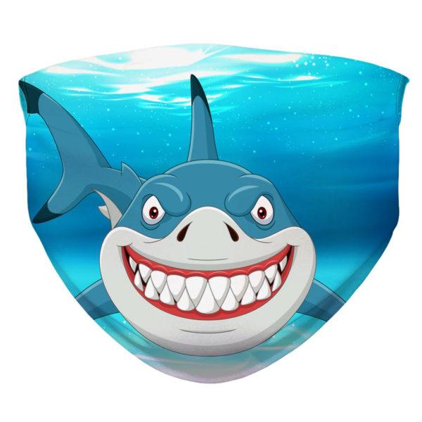 Great White Shark Teeth Sharks Wild Face Mask
