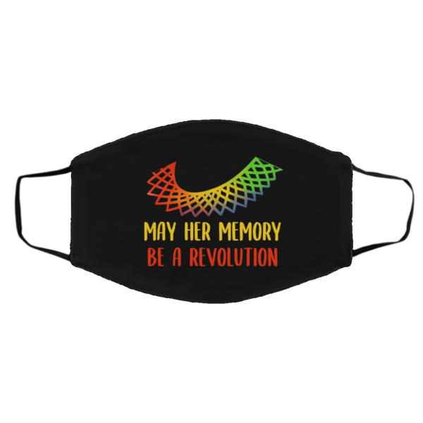 May Her Memory Be A Revolution Face Mask