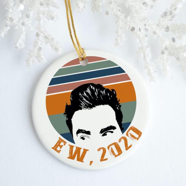Ew 2020 David Vintage Funny Decorative Christmas Ornament - Funny Holiday Gift
