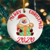 Merry Christmas 2020 Funny Xmas Tree Decoration Funny Decorative Christmas Ornament - Funny Holiday Gift