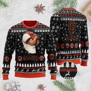 San Francisco Giants Ugly Christmas Sweater 3D