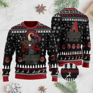 Arizona Diamondbacks 3D Ugly Christmas Sweater