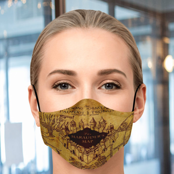 Marauders Map Face Mask