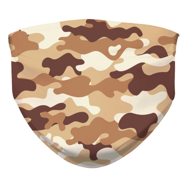 Camouflage Pattern Camo Sand Military Face Mask