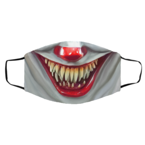 Pennywise Mouth IT Clown Face Mask