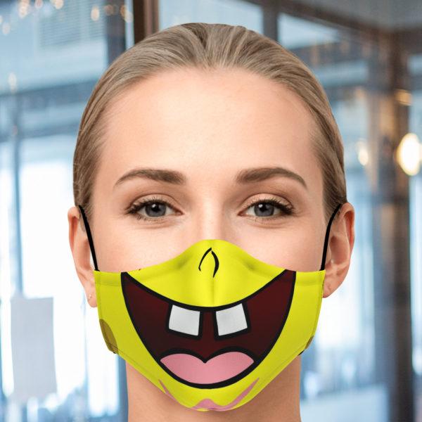 Spongebob Face Mask