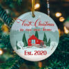 First Christmas New Home Decorative Christmas Ornament - Funny Holiday Gift