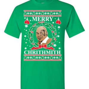 Mike Tyson Merry Chrithmith Ugly Christmas Sweater
