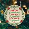 Good Luck Convincing Your New Neighbor Decorative Christmas Ornament - Funny Holiday Gift