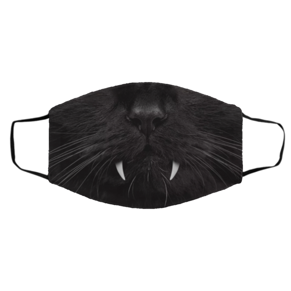 Funny British Shorthair Cat Cosplay Face Mask