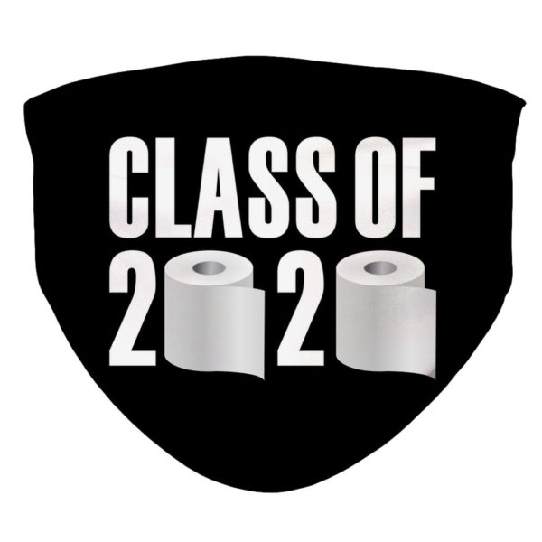 College Class Of 2020 Seniors Funny Face Mask