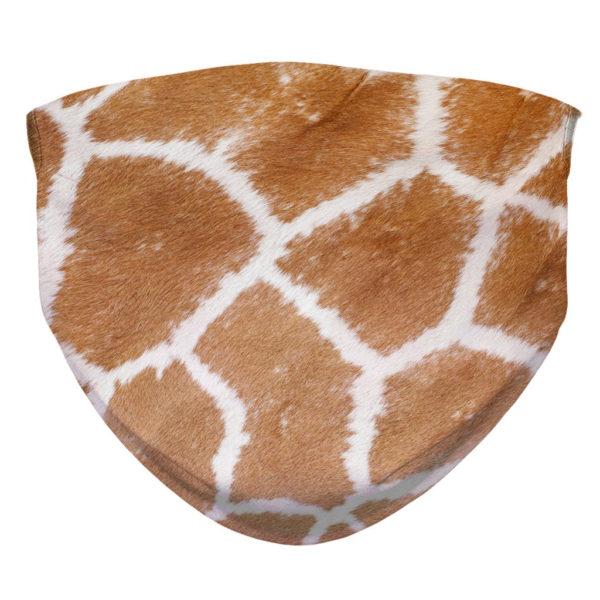 Giraffe Fur Pattern Wild Animal Africa Face Mask