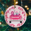 Breast Cancer Survivor Decorative Christmas Ornament - Funny Holiday Gift