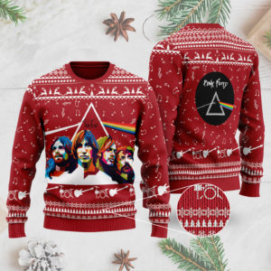 Pink Floyd Band 3D Printed Ugly Christmas Sweater