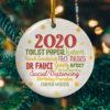 2020 Christmas Quarantine Funny Pandemic Christmas Lockdown Decorative Christmas Ornament - Funny Holiday Gift