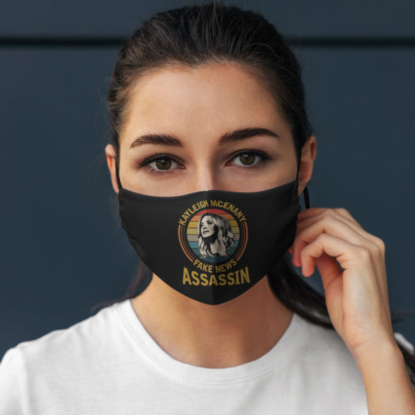 Keyleigh Mcenany Fake News Assassin Vintage Face Mask
