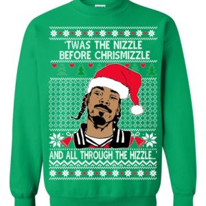 Snoop Dog Fo Shizzle Dizzle Ugly Christmas Sweater