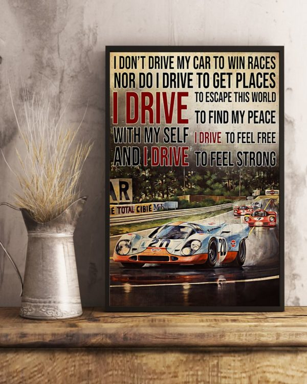 Racing Formula 1 You Dont Stop Riding When You Get Old You Get Old When You Stop Vintage Poster, Canvas