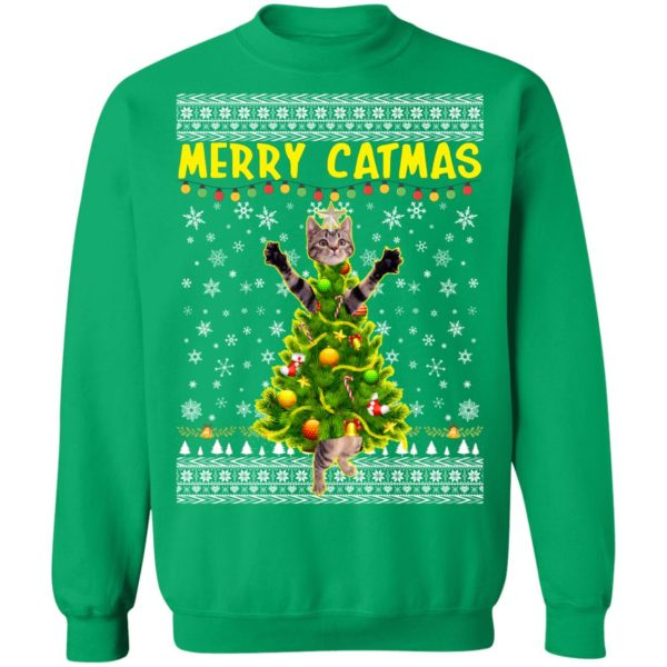 Merry Catmas - Kitten Kitty Ugly Christmas Sweater