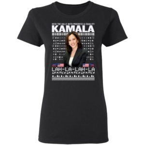 Deck The Halls With Progress And Equality Kamala Lah La Christmas Sweater