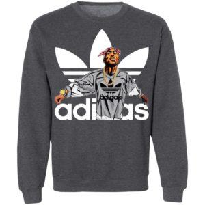 Notorious B.I.G Tupac Shakur Adidas T-Shirt, LS, Hoodie