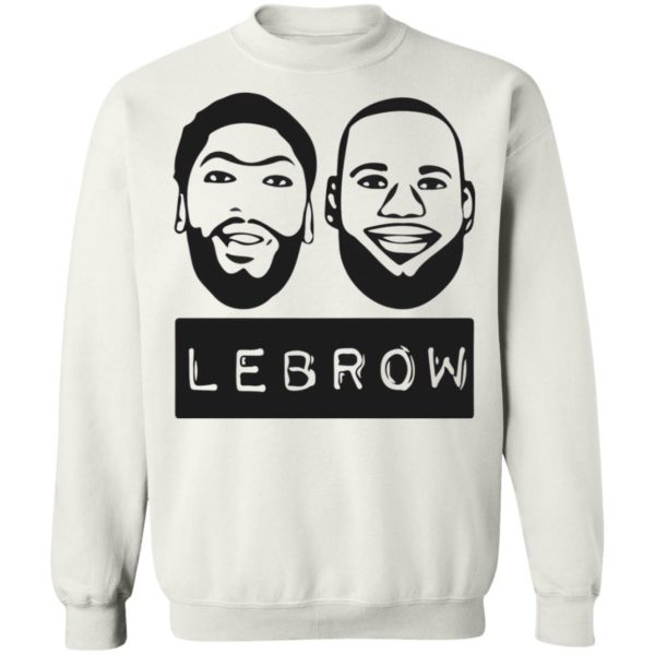 LeBron James and Anthony Davis Lebron T-shirt