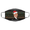 I miss Barack Obama Ugly Christmas Face Mask