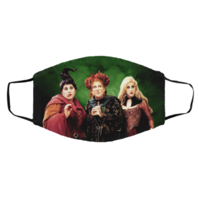 Hocus Pocus Sanderson Sisters Halloween face mask