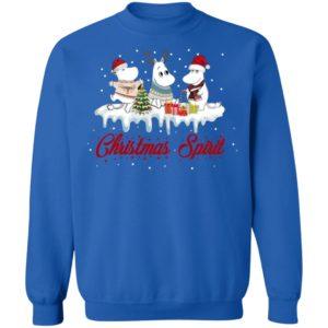 Moomins Christmas Spirit T-Shirt, Sweatshirt