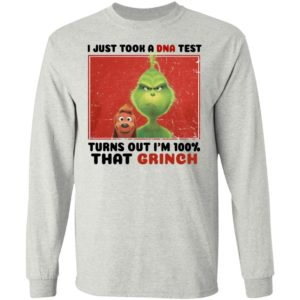 I Just Took A Dna Test Turns Out I'm 100% That Grinch SweatShirt