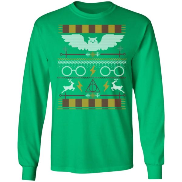 Sweater That Lived Harry Potter Ugly Christmas Sweater