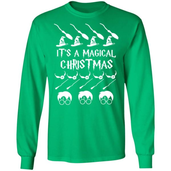 It's a Magical Christmas Sweater, Long Sleeve