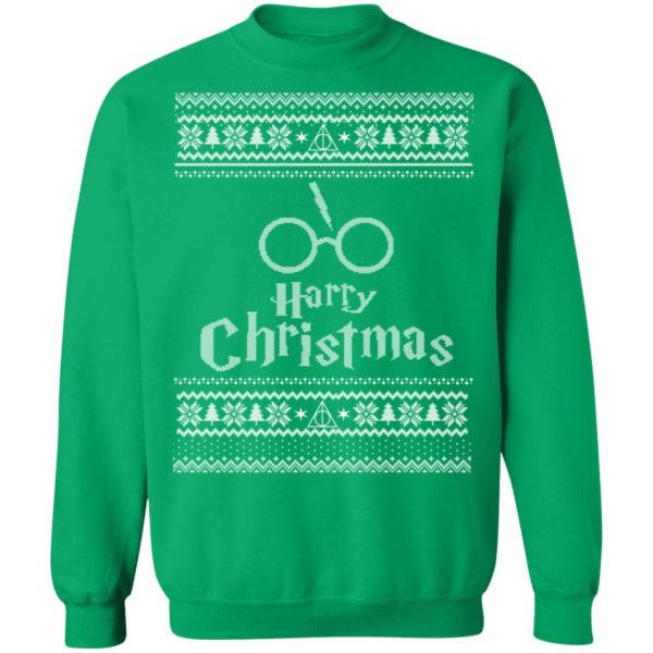 Harry Potter Wizard Movie Ugly Christmas Sweater, Long Sleeve