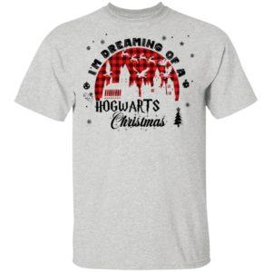 Harry Potter Christmas I'm Dreaming Of A Hogwarts Christmas Sweatshirt, Long Sleeve