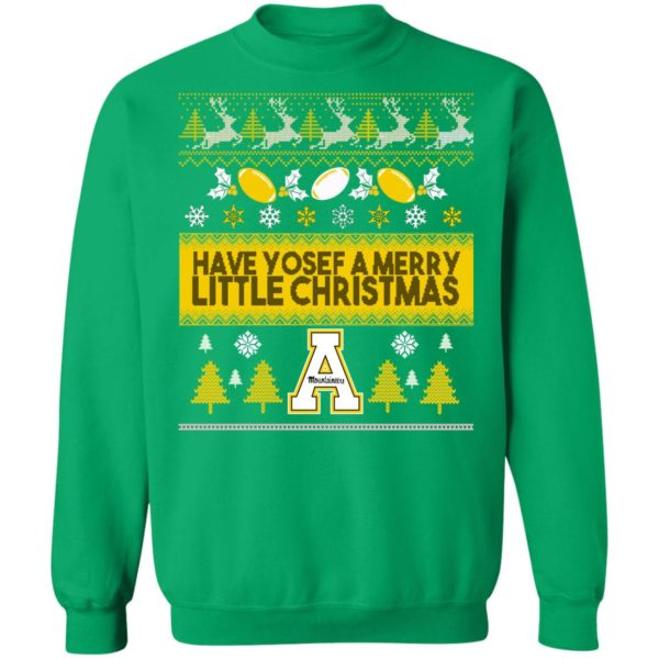Appalachian State Mountaineers Ugly Christmas Sweater, Long Sleeve