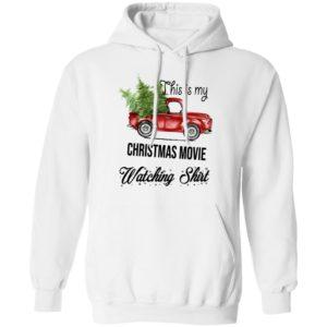 This Is My Christmas Movie Watching Sweatshirt, Long Sleeve