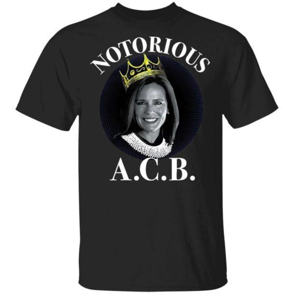 Amy Coney Barrett Notorious ACB T-Shirt