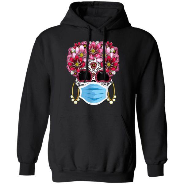 Dia De Los Muertos 2020 Face Mask Day Of The Dead Skull T-Shirt