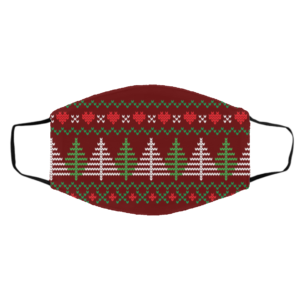 Ugly Christmas Sweater 2020 Pattern Face Mask