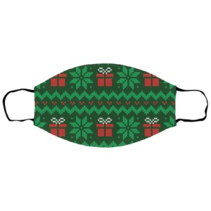 Gift Ugly Christmas Sweater Seamless Face Mask