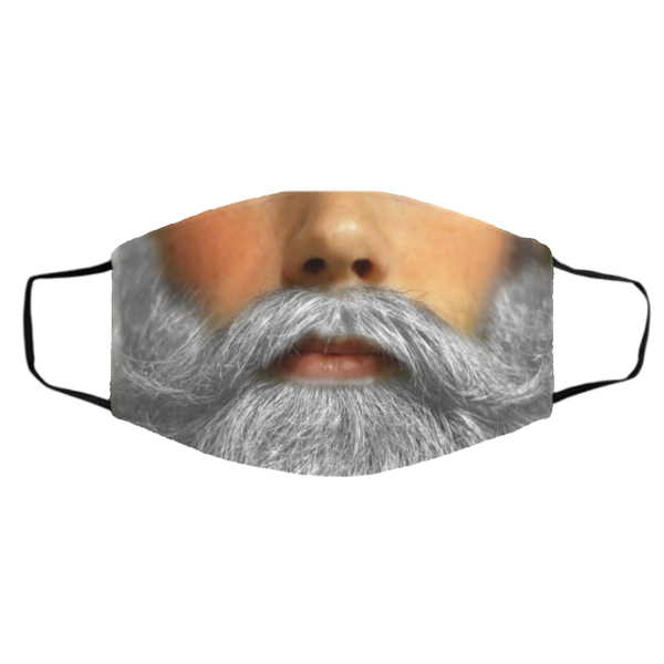 Santa's Beard Face Mask