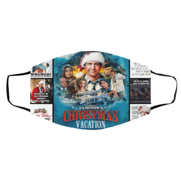 National Lampoon Christmas Vacation Face Mask