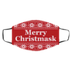 Merry Christmask Ugly Christmas Face Mask